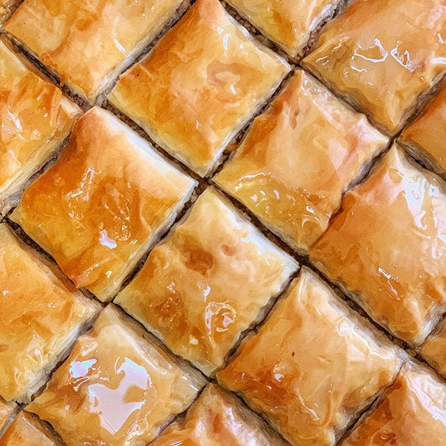 The Baklava Lady on Instagram